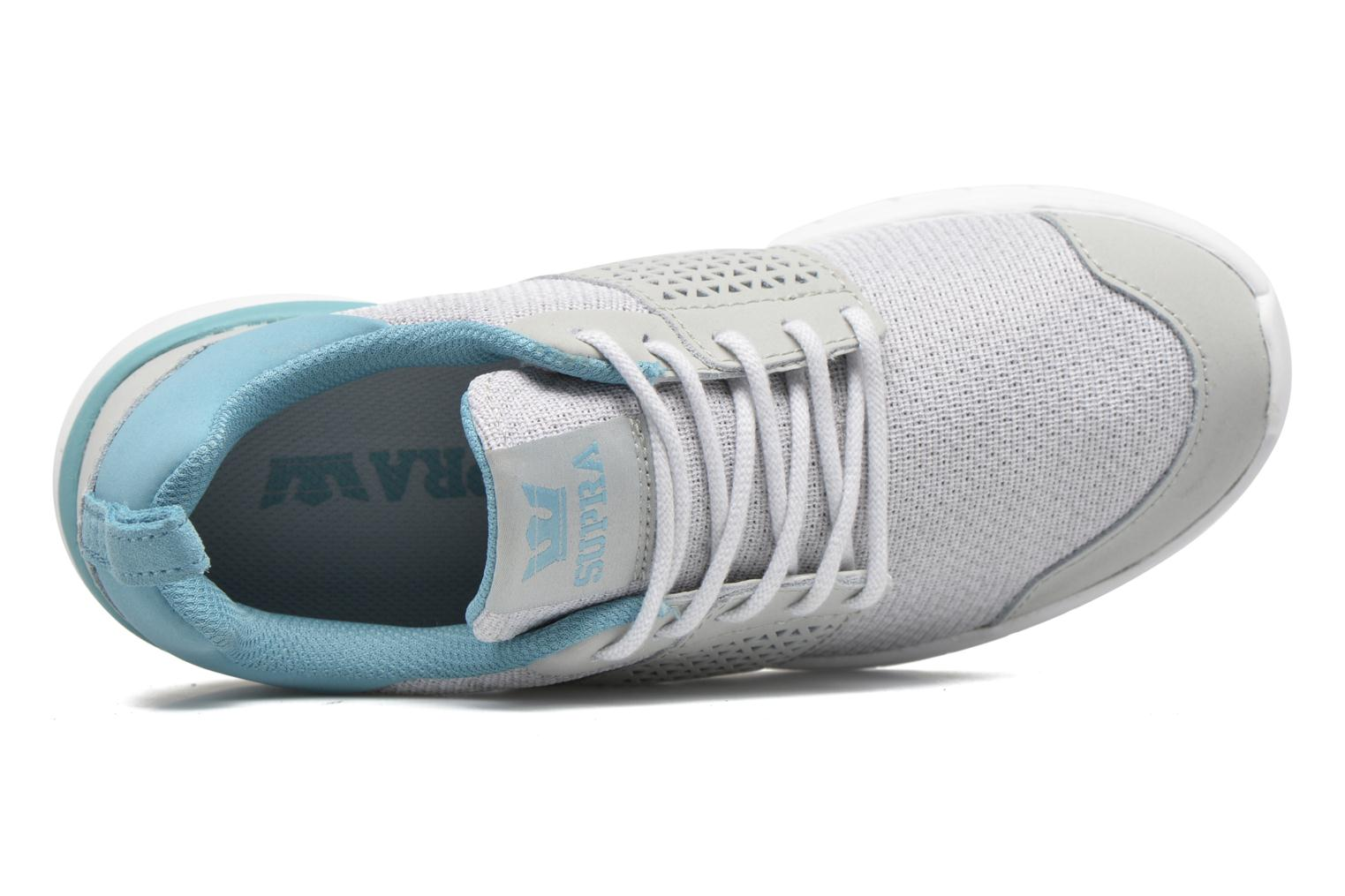 Scissor w Light Grey/Aqua White