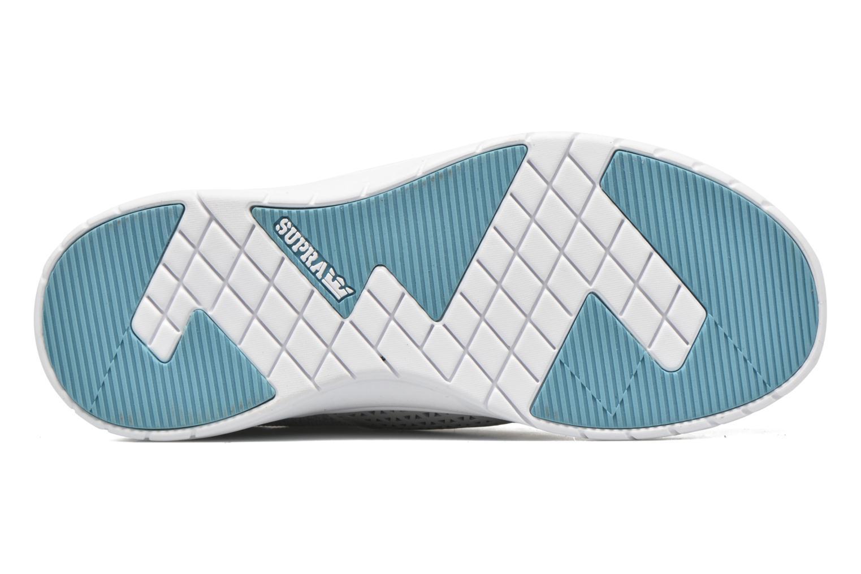 BLUE - WHITE-M Supra Scissor w (Bleu)