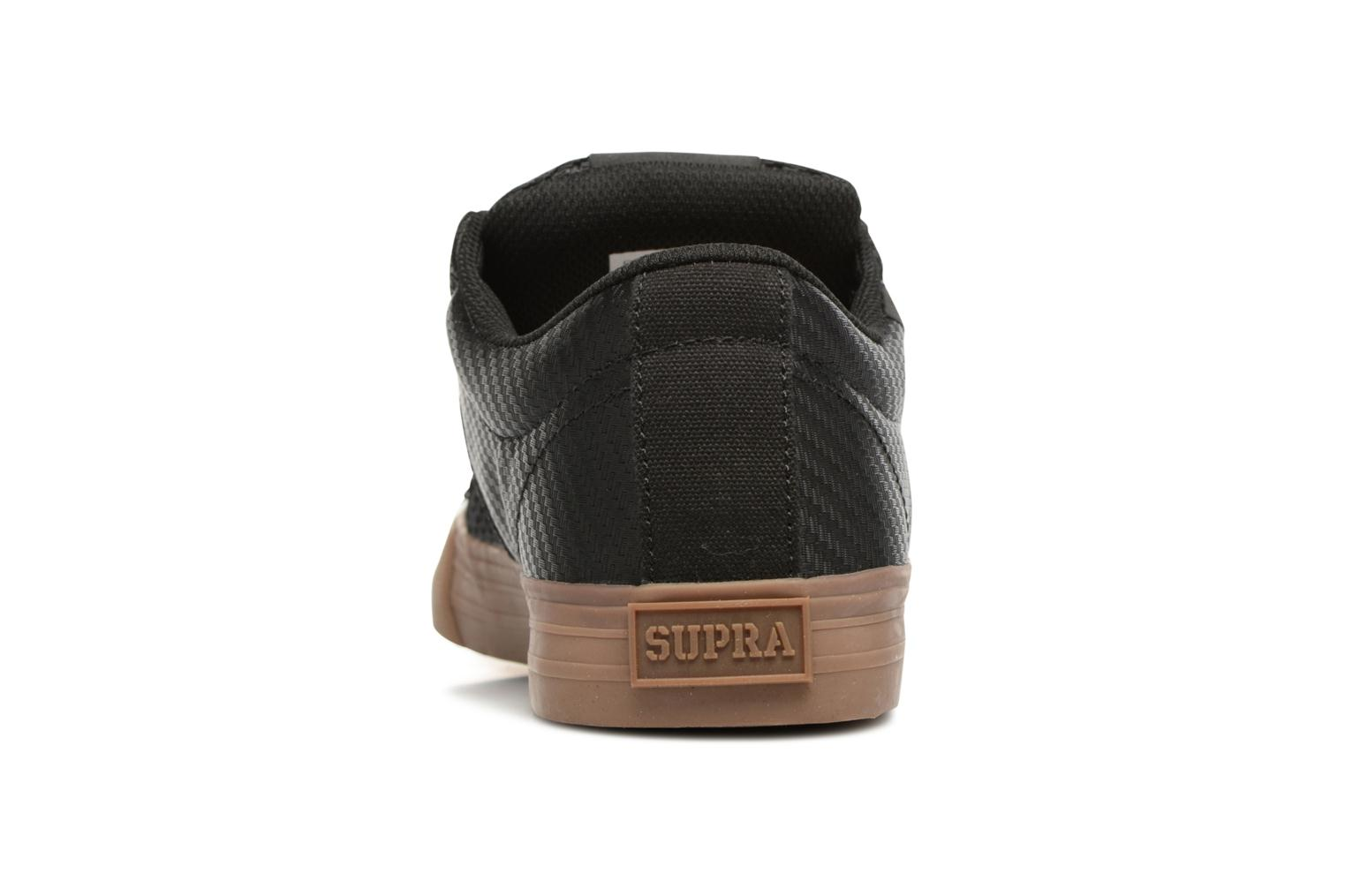 Sport shoes Supra Stacks Vulc II Black view from the right