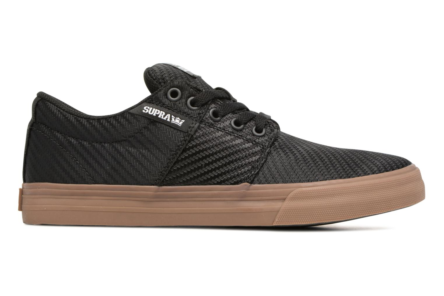 Sport shoes Supra Stacks Vulc II Black back view
