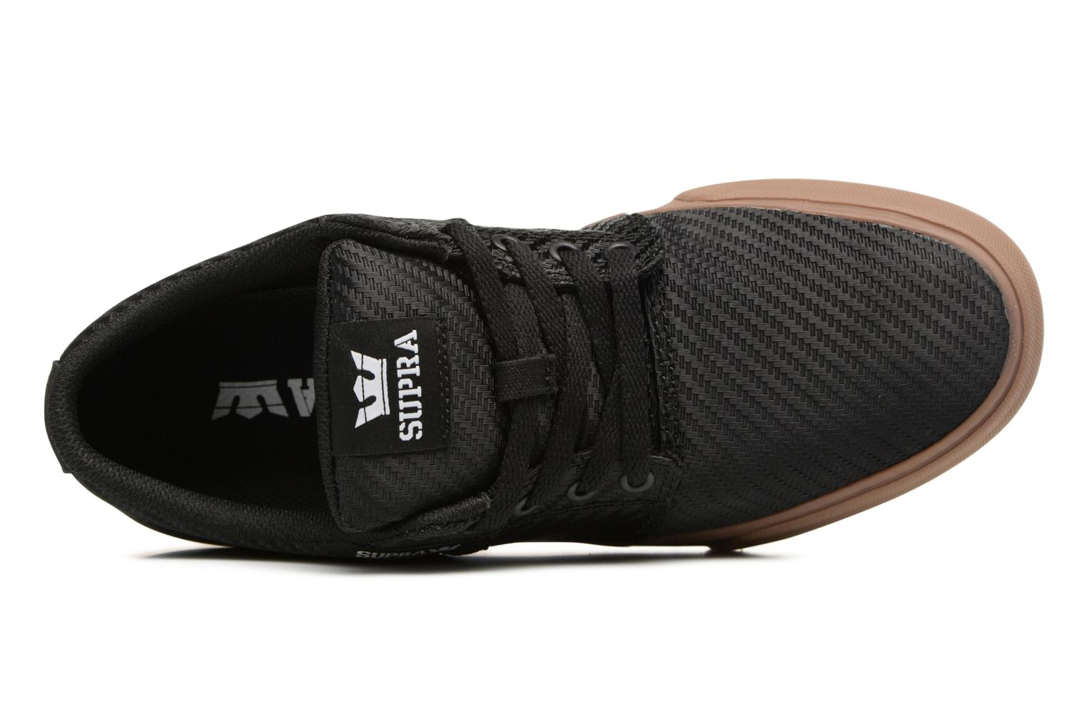 Sport shoes Supra Stacks Vulc II Black view from the left