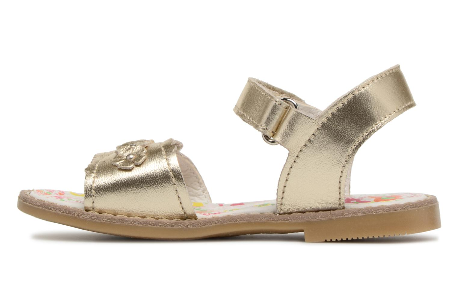 Sandals Primigi Nora Bronze and Gold front view