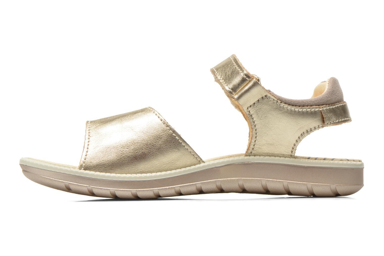 Sandals Primigi Alanis Bronze and Gold front view