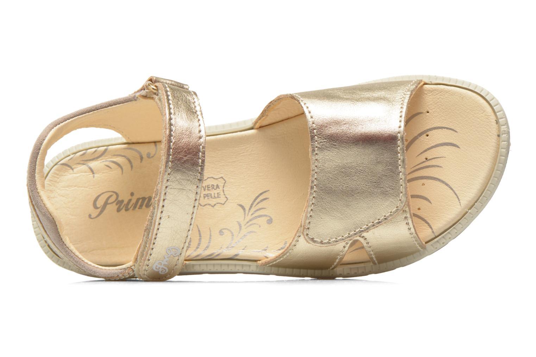 Sandalen Primigi Alanis gold/bronze ansicht von links
