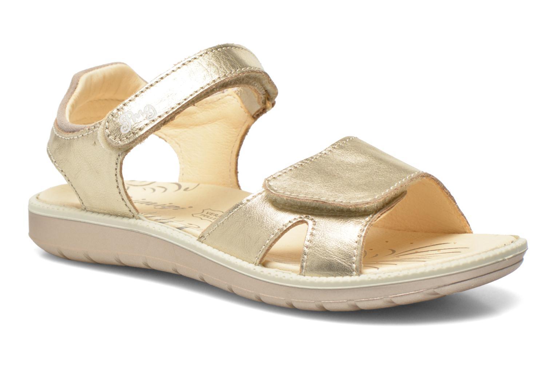 Sandals Primigi Alanis Bronze and Gold detailed view/ Pair view