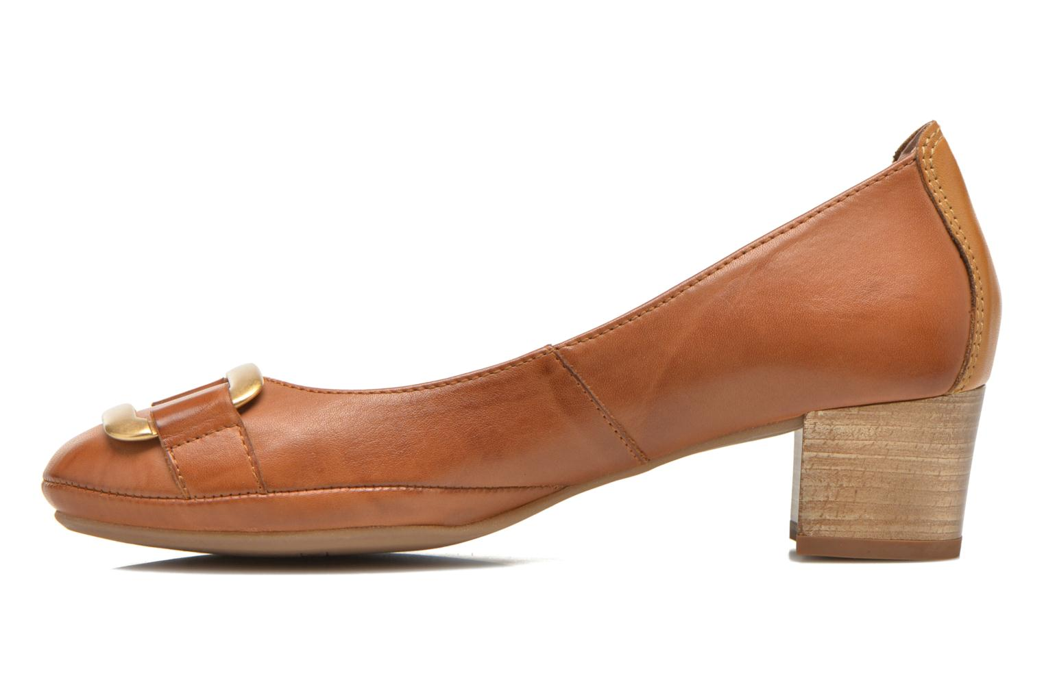 High heels Pikolinos Valencia H950-7735 Brown front view