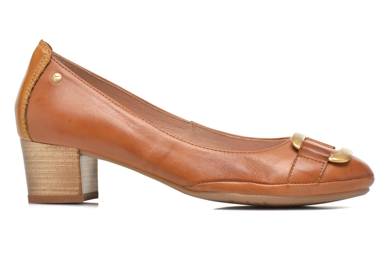 High heels Pikolinos Valencia H950-7735 Brown back view