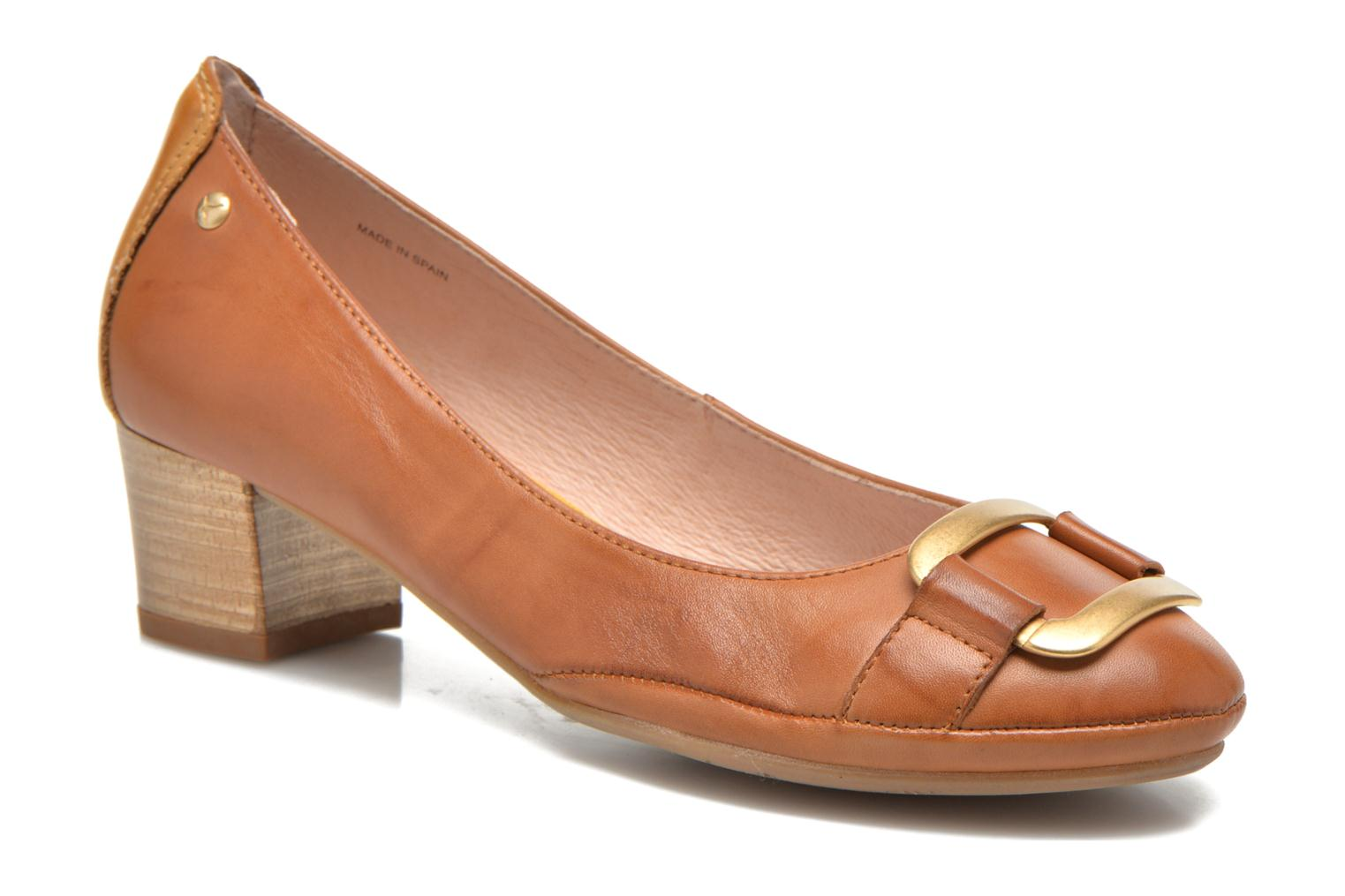 High heels Pikolinos Valencia H950-7735 Brown detailed view/ Pair view