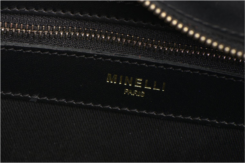 Bolsos de mano Minelli MC 926 Porté épaule Negro vista lateral izquierda