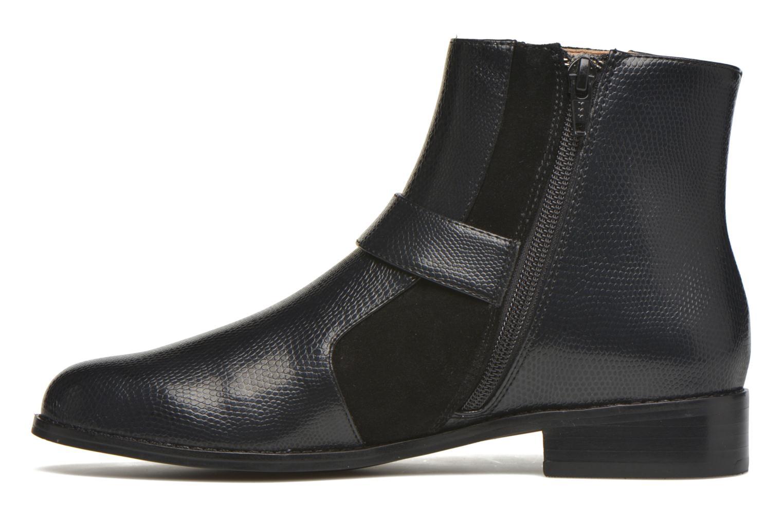 Boots en enkellaarsjes Mellow Yellow Aldana Zwart voorkant