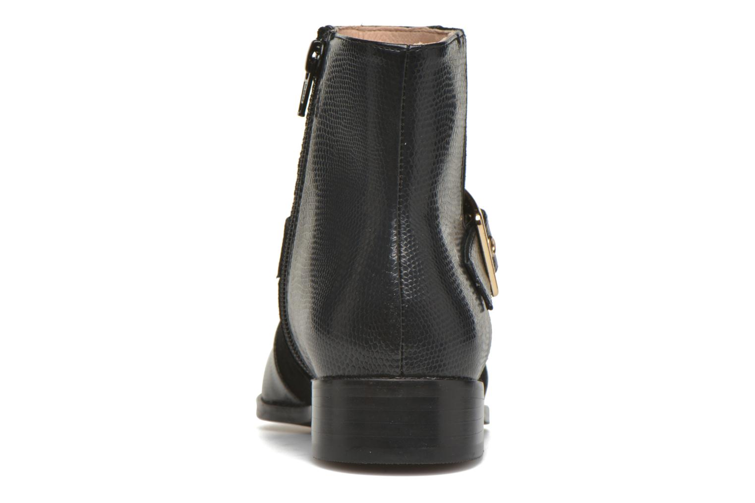 Ankle boots Mellow Yellow Aldana Black view from the right