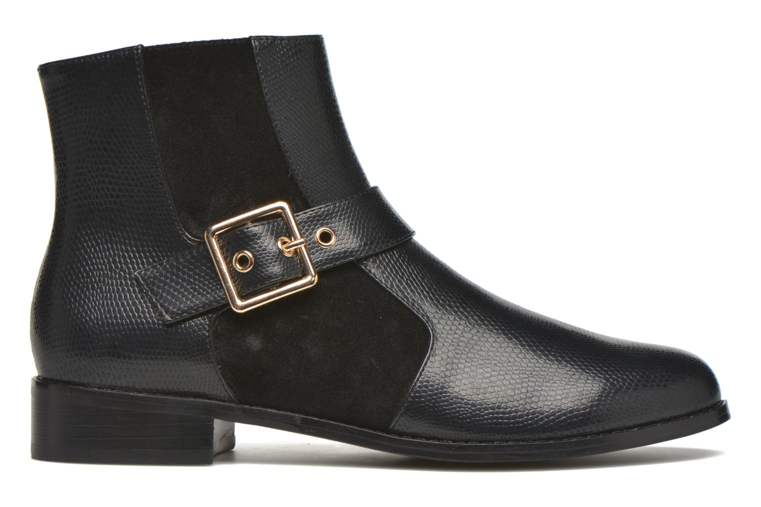 Ankle boots Mellow Yellow Aldana Black back view