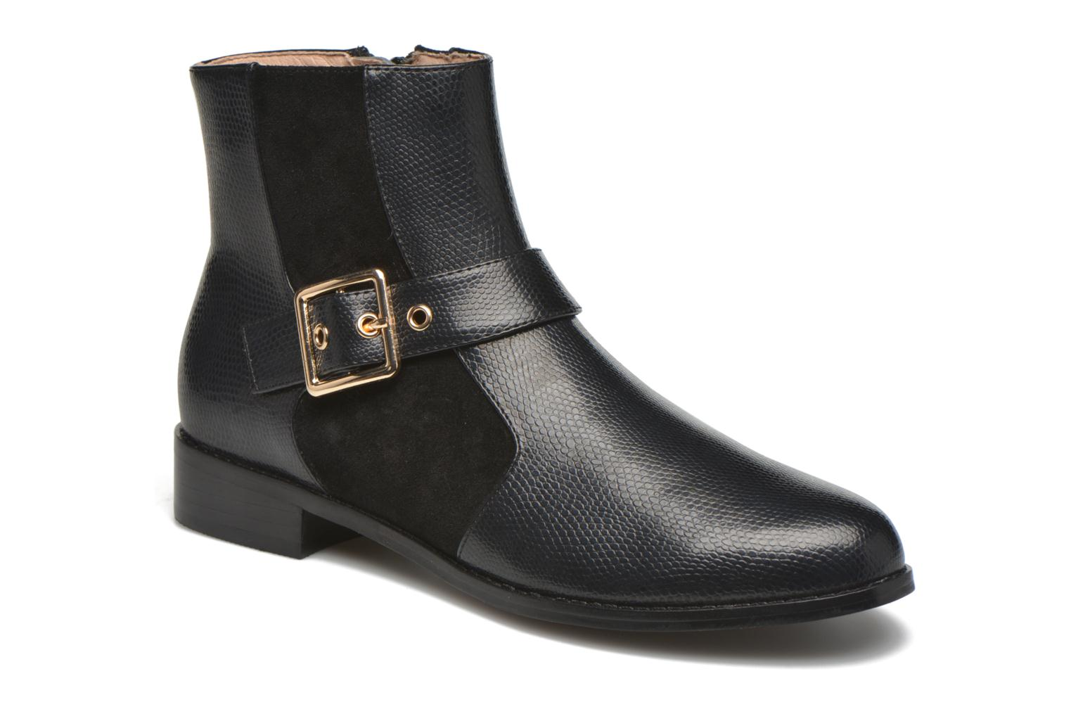Ankle boots Mellow Yellow Aldana Black detailed view/ Pair view