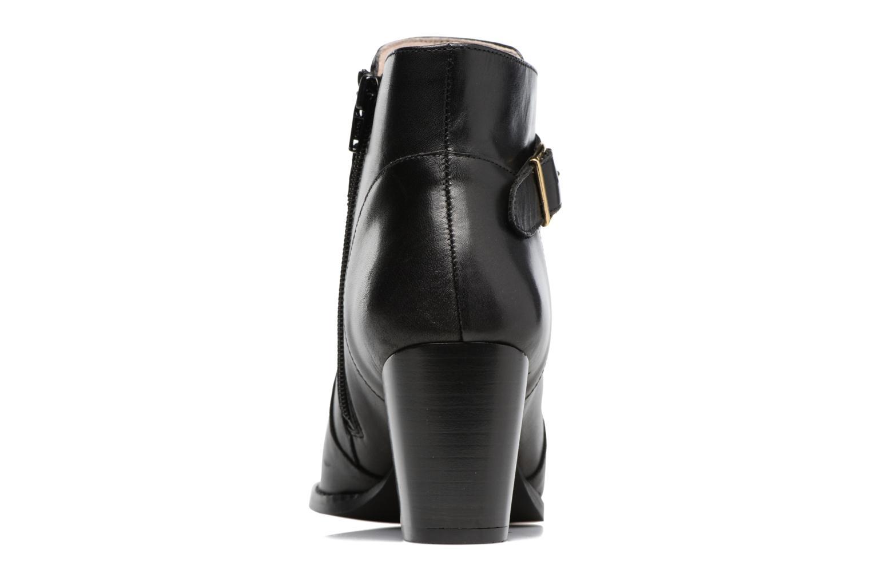 Bottines et boots Mellow Yellow Postiche Noir vue droite