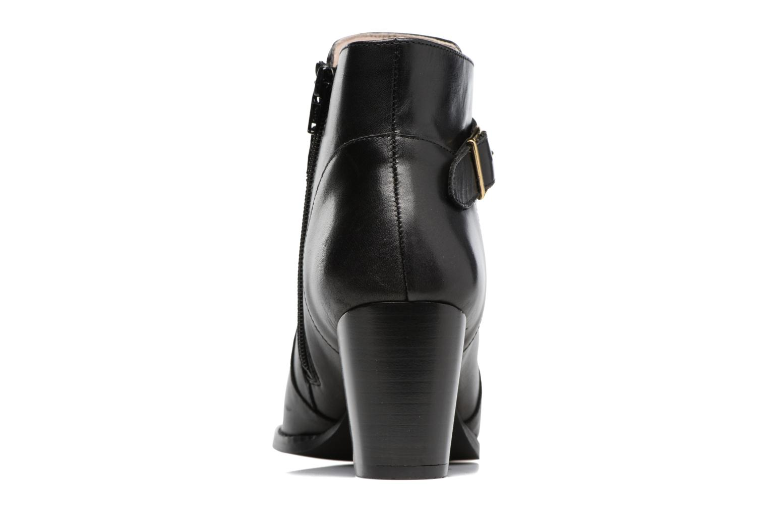 Ankle boots Mellow Yellow Postiche Black view from the right