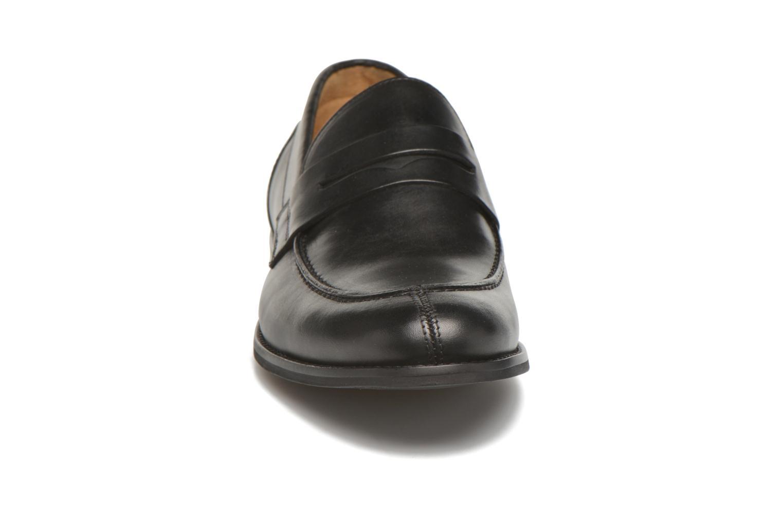 Slipper Marvin&Co Nantlle schwarz schuhe getragen
