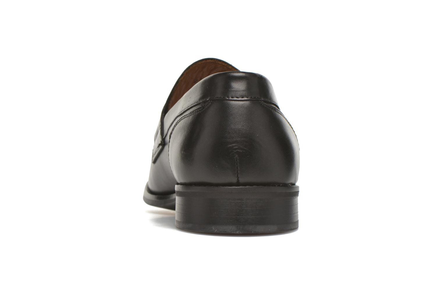 Mocasines Marvin&Co Nantlle Negro vista lateral derecha