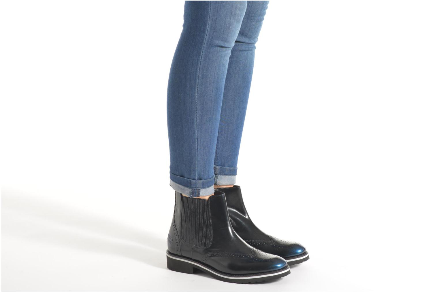 Ankle boots Melvin & Hamilton Esther 3 Black view from underneath / model view