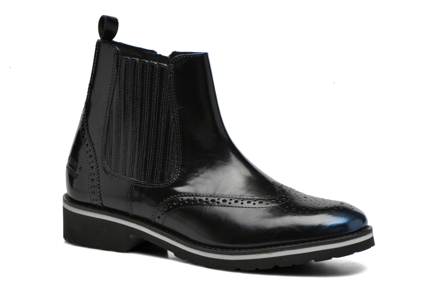Ankle boots Melvin & Hamilton Esther 3 Black detailed view/ Pair view