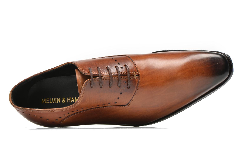 Chaussures à lacets Melvin & Hamilton Ethan 1 Marron vue gauche