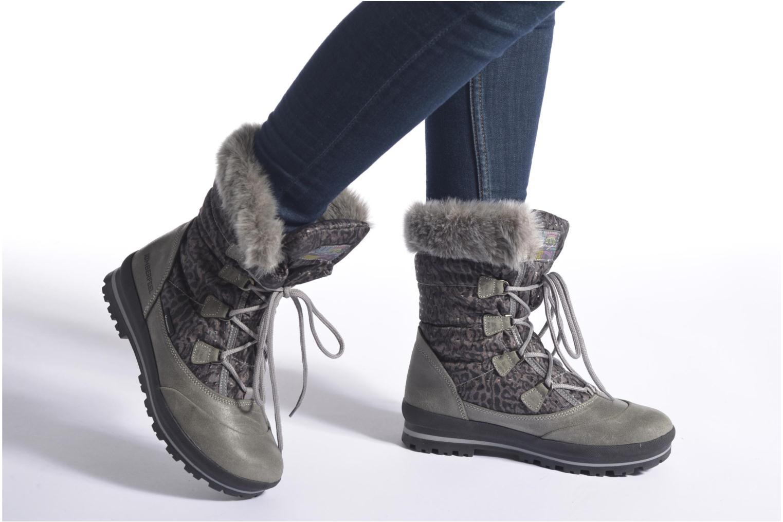 Chaussures de sport Kimberfeel Alberta Gris vue bas / vue portée sac