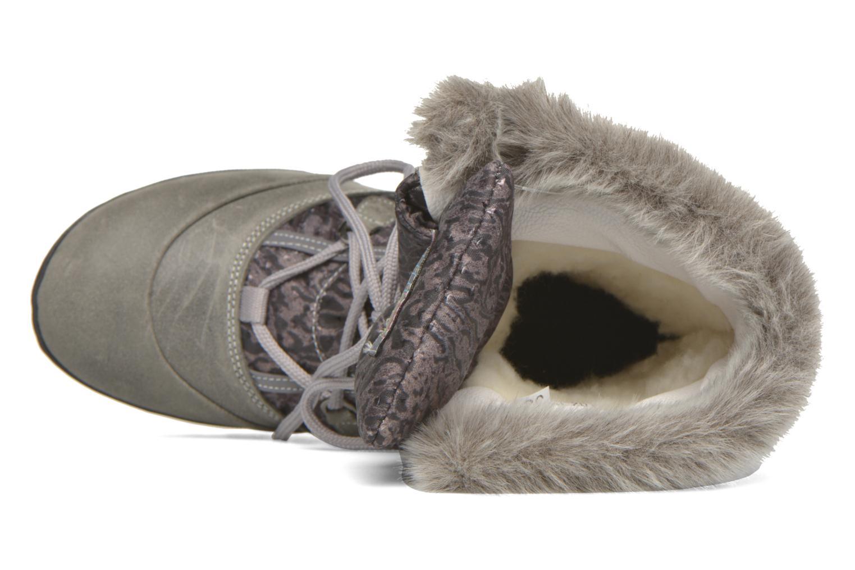 Zapatillas de deporte Kimberfeel Alberta Gris vista lateral izquierda