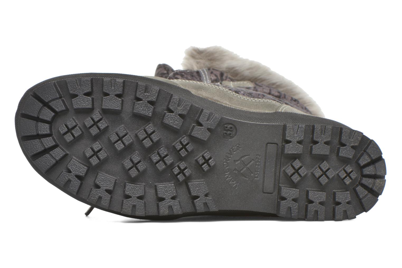 Zapatillas de deporte Kimberfeel Alberta Gris vista de arriba