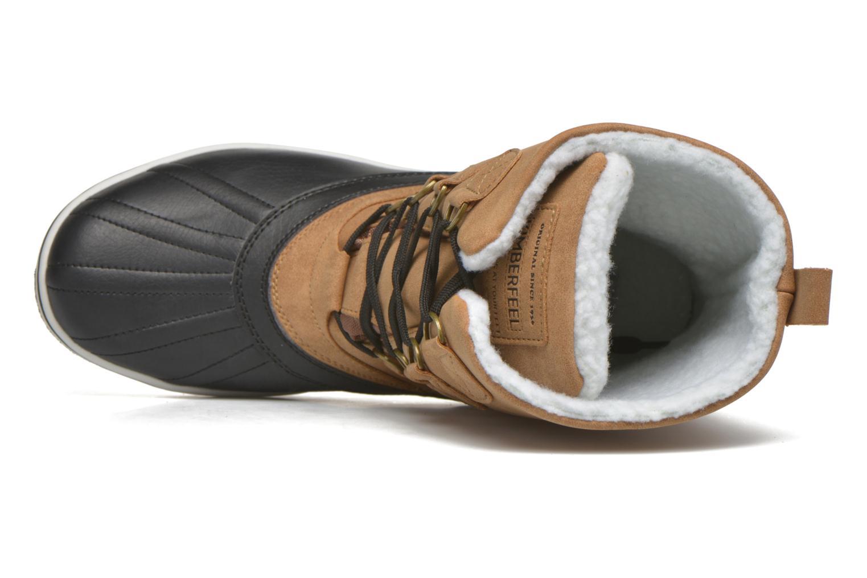 Zapatillas de deporte Kimberfeel Loris Beige vista lateral izquierda