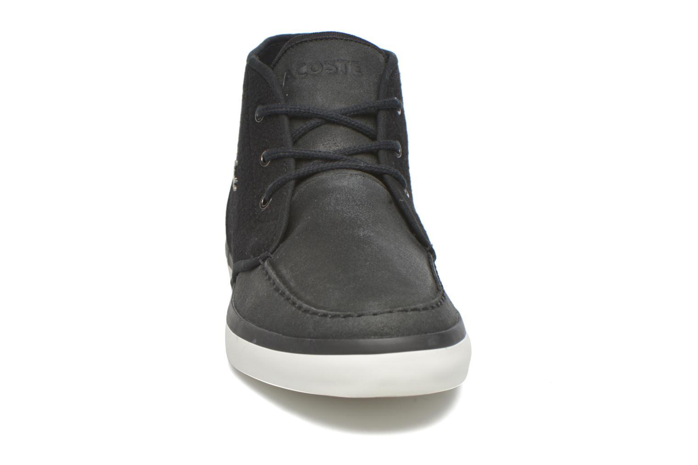 Baskets Lacoste Sevrin Mid Lace 416 1 Noir vue portées chaussures