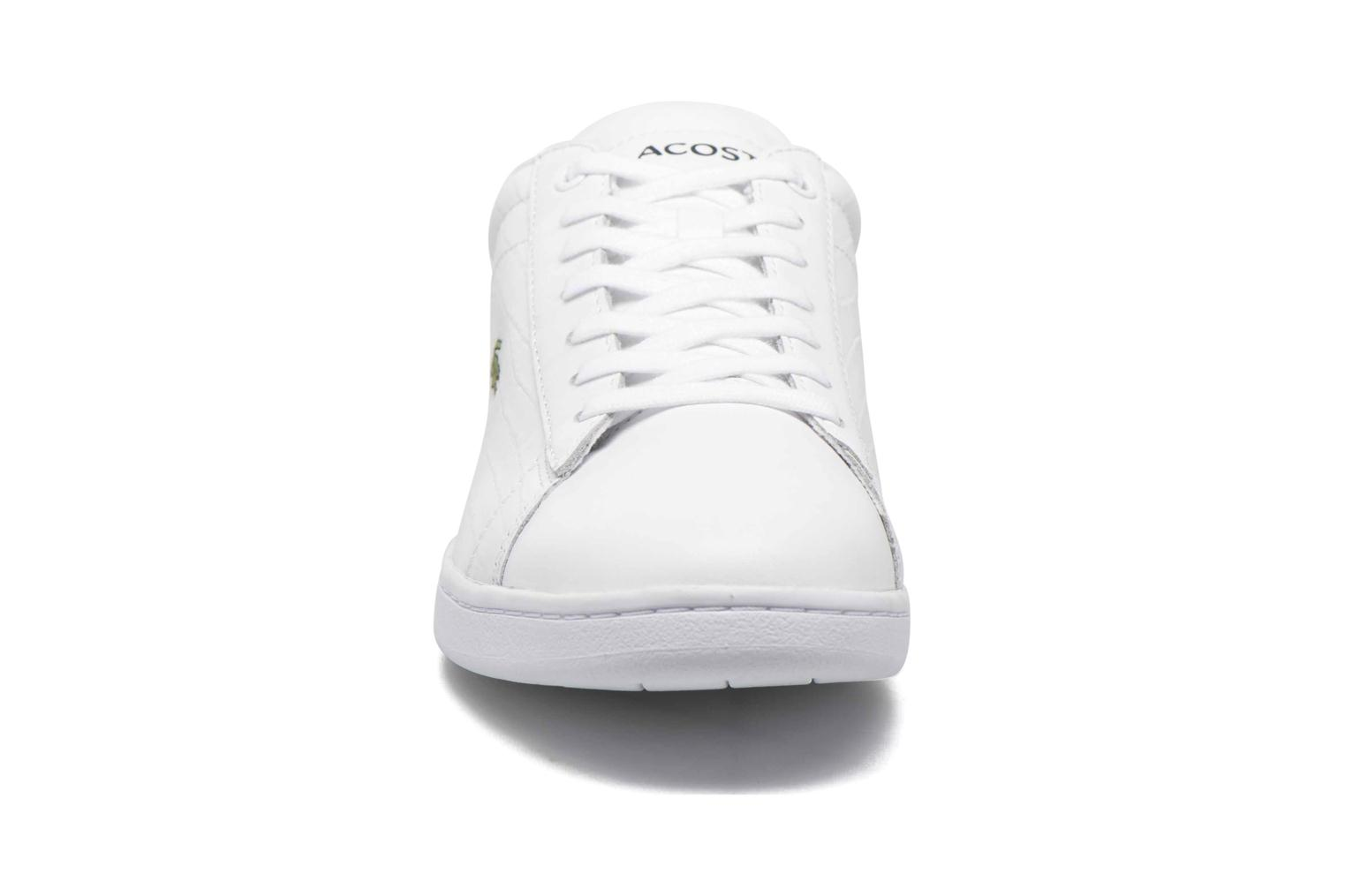 Baskets Lacoste Carnaby Evo G316 7 Spm Blanc vue portées chaussures