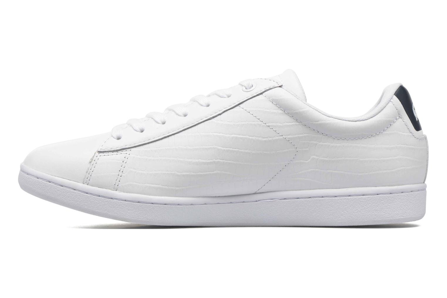 Baskets Lacoste Carnaby Evo G316 7 Spm Blanc vue face