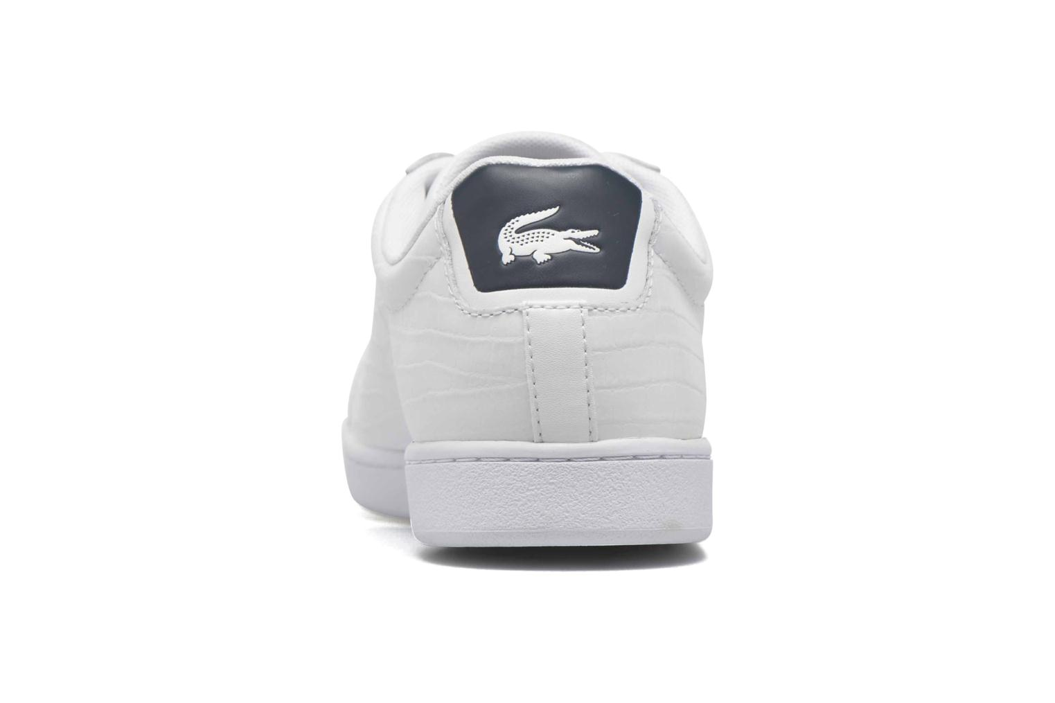 Baskets Lacoste Carnaby Evo G316 7 Spm Blanc vue droite