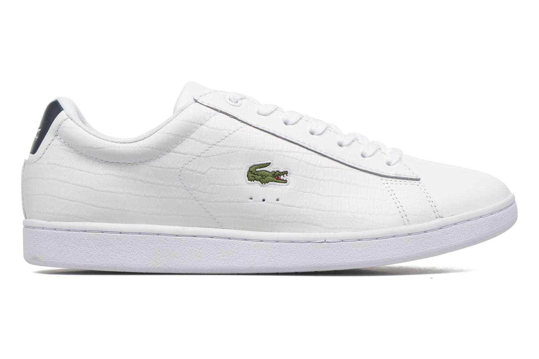 Sneaker Lacoste Carnaby Evo G316 7 Spm weiß ansicht von hinten