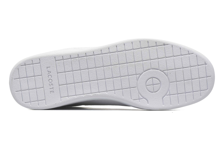 Sneaker Lacoste Carnaby Evo G316 7 Spm weiß ansicht von oben