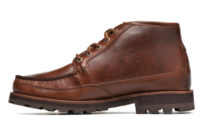 Boots Sebago Vershire Chukka Brun bild från framsidan