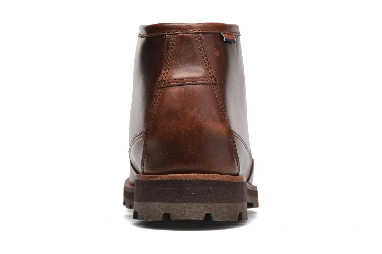 Boots Sebago Vershire Chukka Brun Bild från höger sidan