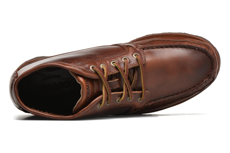 Boots Sebago Vershire Chukka Brun bild från vänster sidan