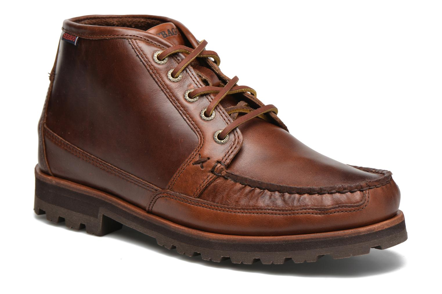 Ankle boots Sebago Vershire Chukka Brown detailed view/ Pair view