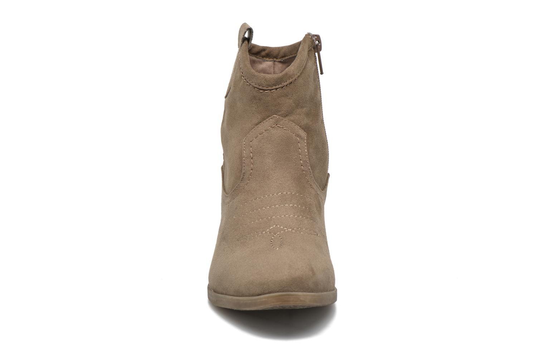 Bottines et boots I Love Shoes THOVE Marron vue portées chaussures