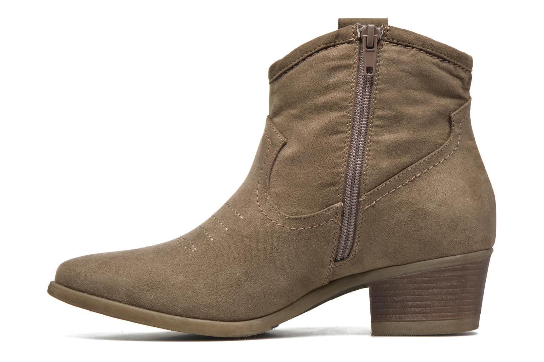 Bottines et boots I Love Shoes THOVE Marron vue face