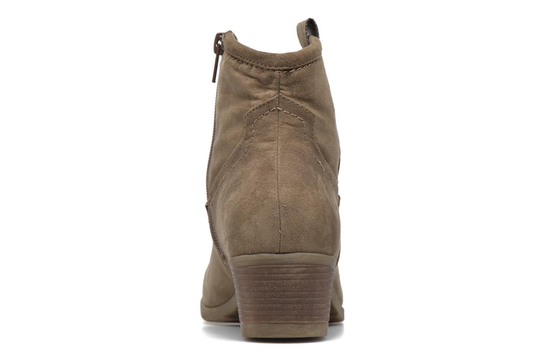 Bottines et boots I Love Shoes THOVE Marron vue droite