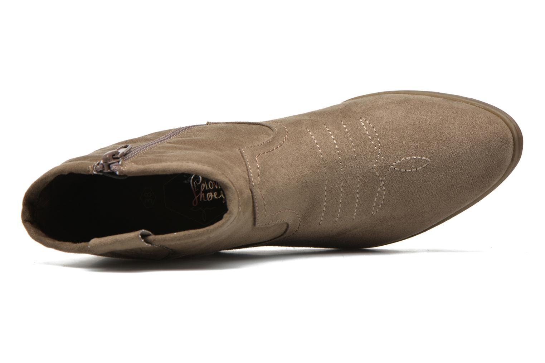 Bottines et boots I Love Shoes THOVE Marron vue gauche