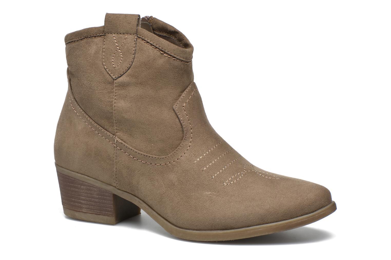Bottines et boots I Love Shoes THOVE Marron vue détail/paire