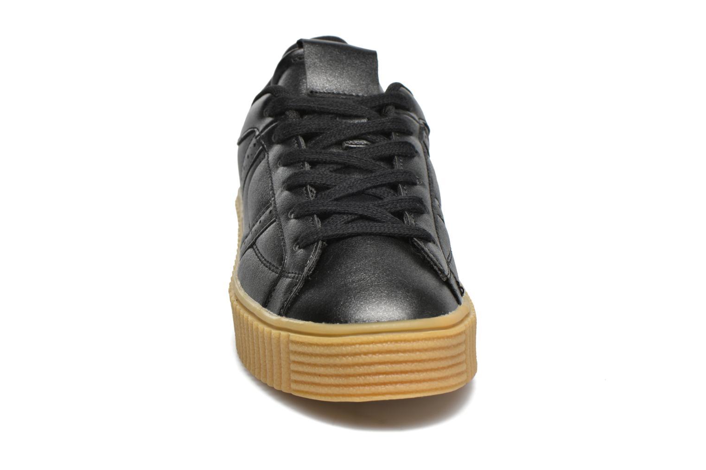 Baskets I Love Shoes THAMI Noir vue portées chaussures