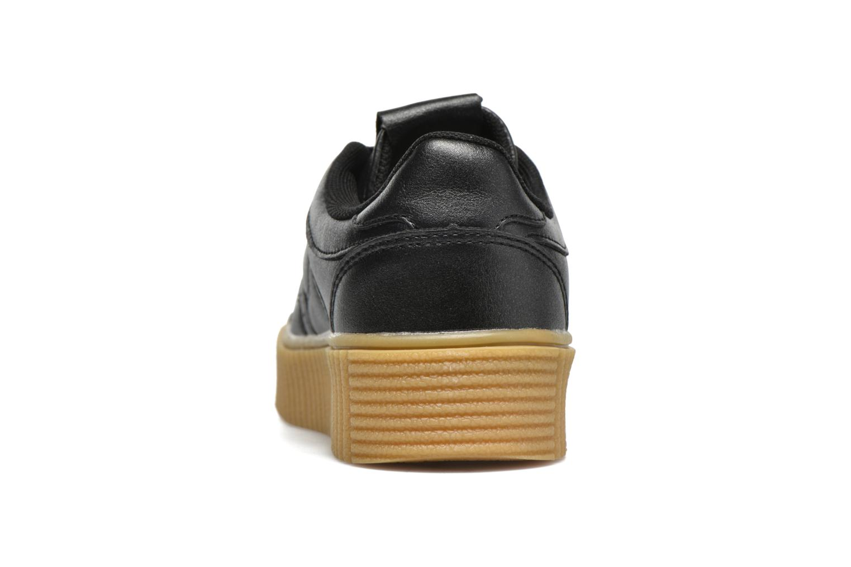 Deportivas I Love Shoes THAMI Negro vista lateral derecha