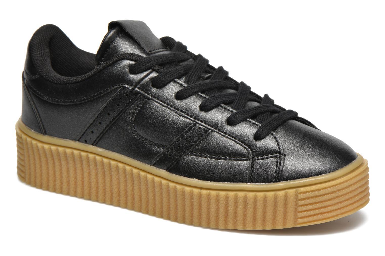 Baskets I Love Shoes THAMI Noir vue détail/paire