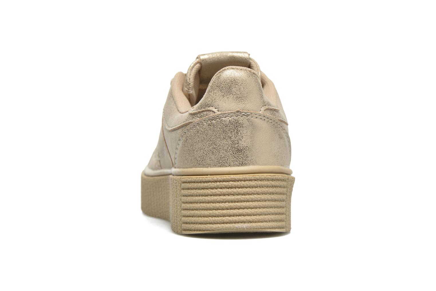 Deportivas I Love Shoes THAMI Oro y bronce vista lateral derecha