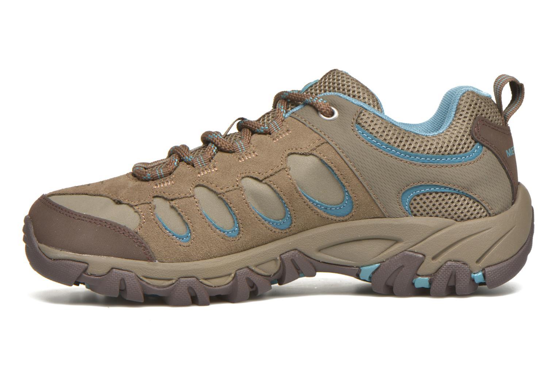 Chaussures de sport Merrell Ridge Pass Bolt W Marron vue face