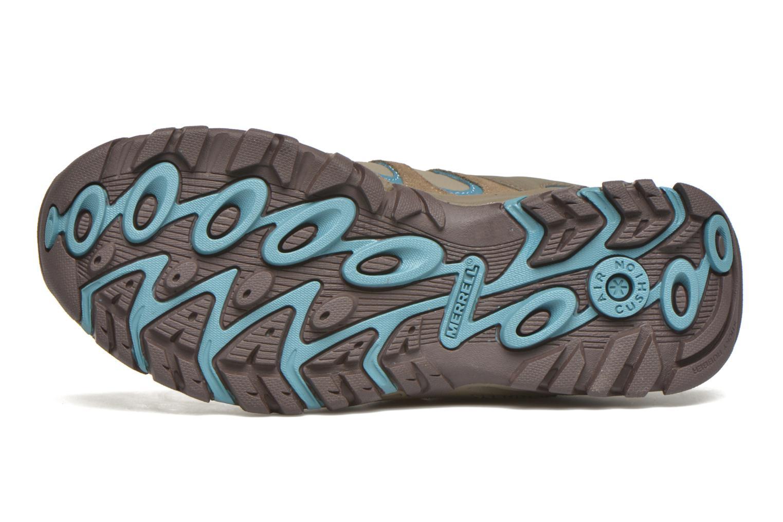Chaussures de sport Merrell Ridge Pass Bolt W Marron vue haut