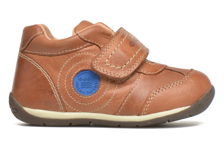 Schoenen met klitteband Geox B Each Boy B540BD Bruin achterkant